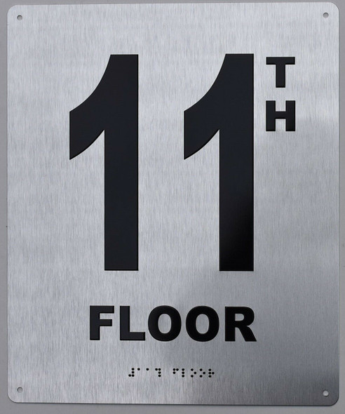 11TH Floor Sign