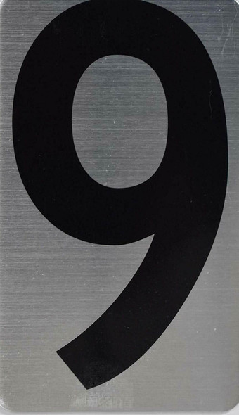 House Number /Apartment Number Sign - Nine(9)