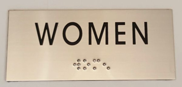 WOMEN SIGN for Building