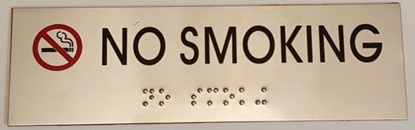 NO SMOKING Sign -Tactile Signs   Ada sign