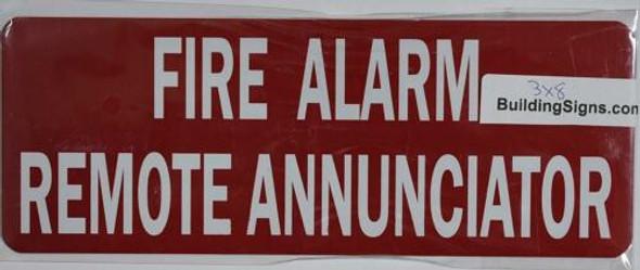 FIRE Alarm Remote Annunciator
