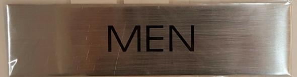 Toilet Men sign - Delicato line