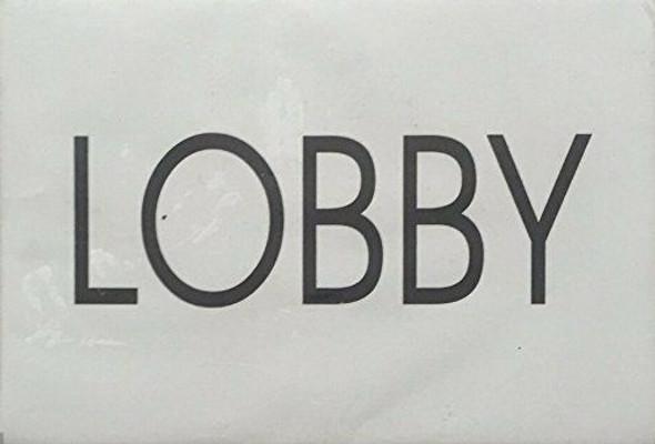 LOBBY SIGNAGE - Delicato line (BRUSHED ALUMINUM)