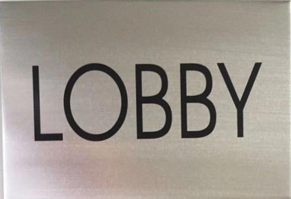 FLOOR NUMBER Signage - LOBBY Signage