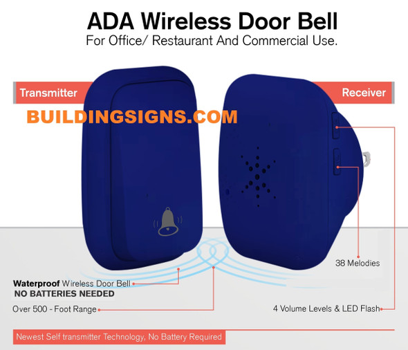 ada doorbell wireless