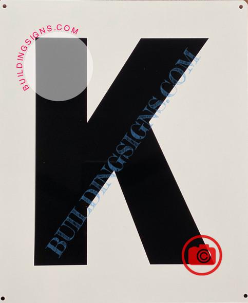 LETTER K SIGN