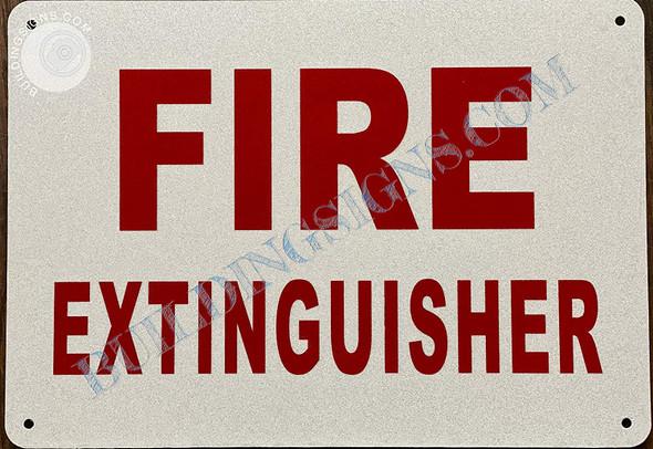 Sign 2pcs - Fire Extinguisher