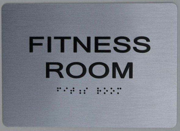 FITNESS ROOM Sign for Building