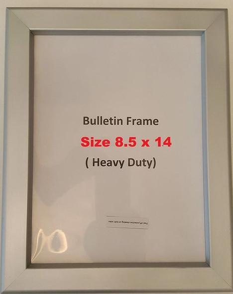 Hallway / Lobby Notice Frame  (Heavy Duty - Aluminum)