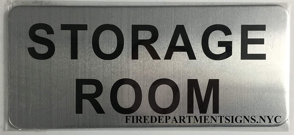 Storage Room Signage