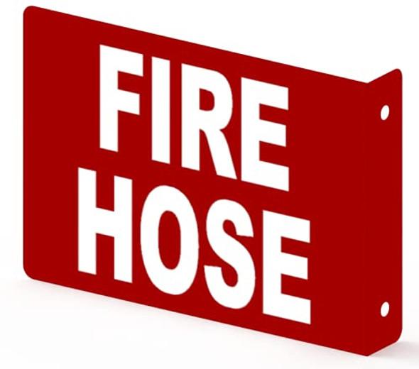 FIRE Hose Projection Sign- FIRE Hose 3D Sign  Aluminium,