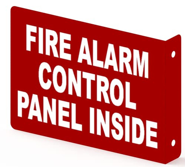 FIRE Alarm Control Panel Inside Projection Sign-FACP Inside 3D Sign