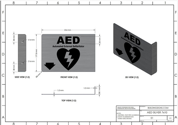 AED Projection - AED 3D   Singange
