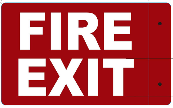 FIRE EXIT Projection -FIRE EXIT 3D  Singange