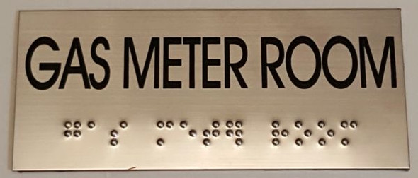 GAS METER ROOM HPD SIGN