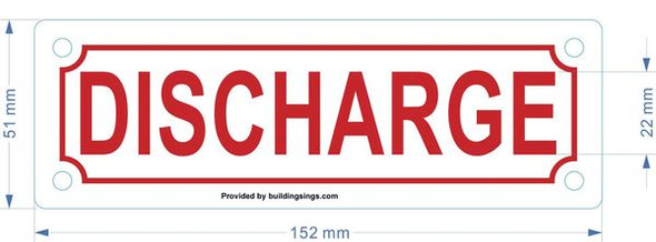 DISCHARGE Dob SIGN