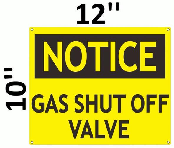 SHUT OFF VALVE for Building SIGN
