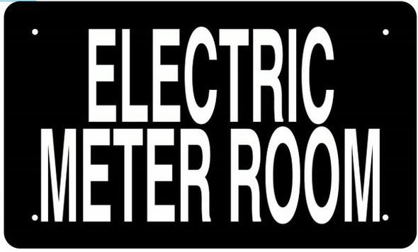 ELECTRIC METER ROOM SIGN