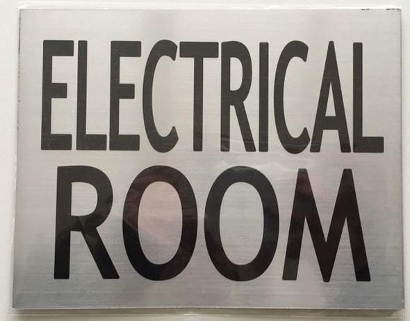 ELECTRICAL ROOM Dob SIGN