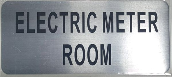 ELECTRIC METER ROOM  - BRUSHED ALUMINUM - The Mont Argent Line