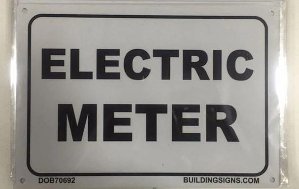 ELECTRIC METER Dob SIGN