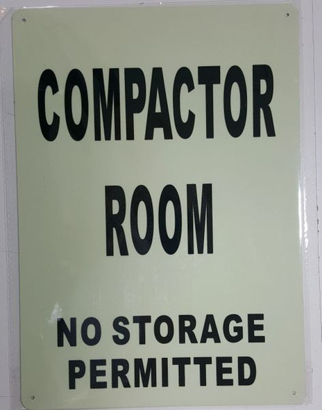 COMPACTOR ROOM Dob SIGN