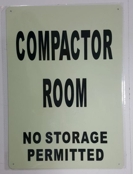 COMPACTOR ROOM HPD SIGN