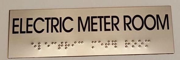 ELECTRIC METER ROOM HPD SIGN
