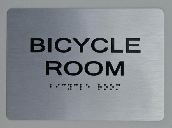 BICYCLE ROOM HPD SIGN