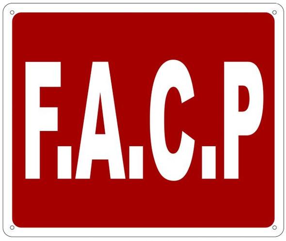 FACP Sign ,