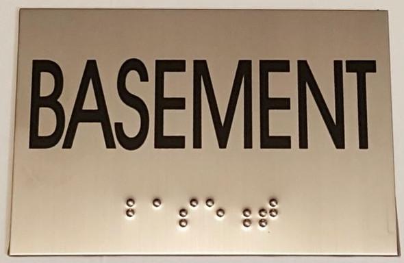BASEMENT HPD SIGN