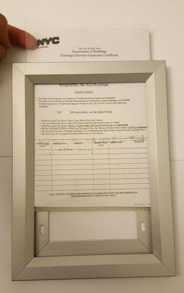 Elevator Inspection Frame (Heavy duty Inspection Frames)