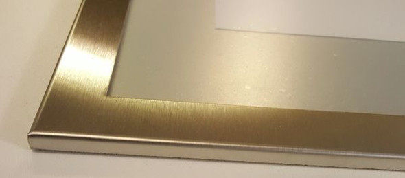 Elevator Notice frame  stainless Steel (NOTICE FRAMES)