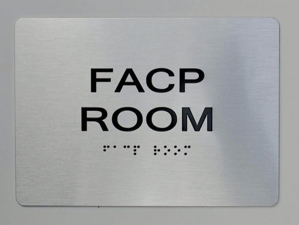 FACP Room ADA-Sign -Tactile Signs The sensation line  Ada sign