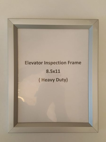 ELEVATOR INSPECTION FRAME