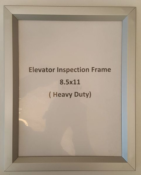 ELEVATOR INSPECTION HPD FRAME