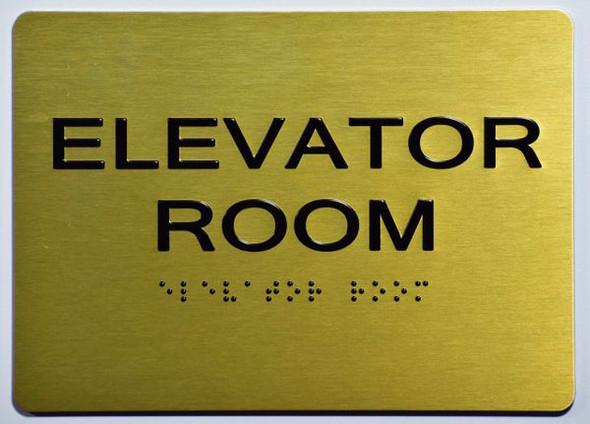 ELEVATOR ROOM SIGN for Building