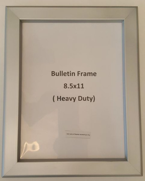 Notice Frame  ( Heavy Duty - Aluminum) (NOTICE FRAMES)