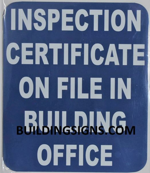 CERTIFICATE SIGN