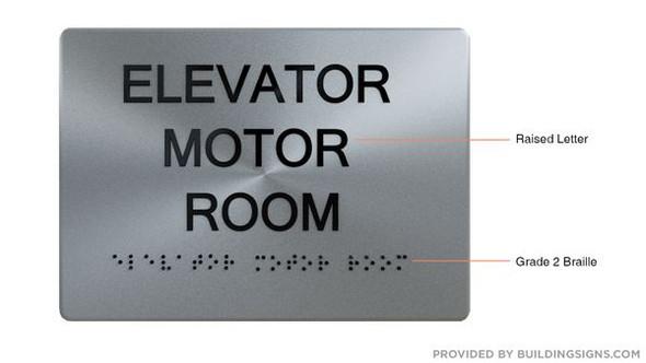 ELEVATOR ROOM HPD SIGN