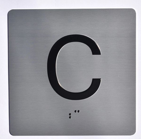 ELEVATOR JAMB C SIGN