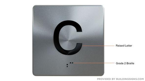 ELEVATOR JAMB C HPD SIGN