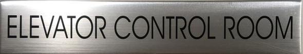 ELEVATOR ROOM Dob SIGN