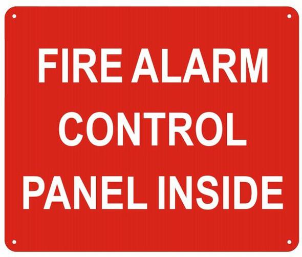 CONTROL PANEL SIGN