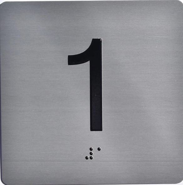 ELEVATOR JAMB- 1  Elevator sign