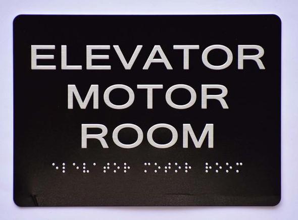 ELEVATOR MOTOR ROOM SIGN  Ada sign