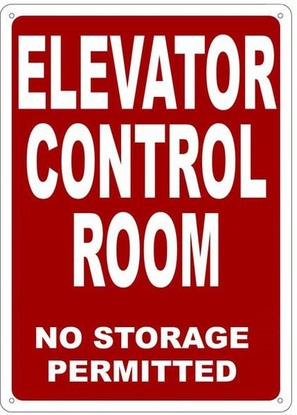 CONTROL ROOM SIGN