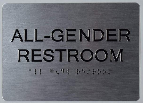 ADA ALL GENDER RESTROOM sign