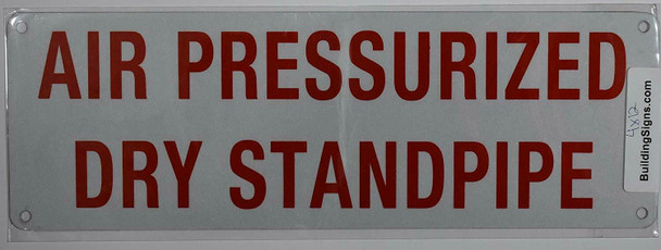 AIR PRESSURIZED Dry Standpipe age