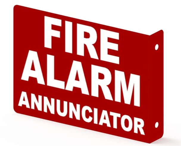 FIRE Alarm Annunciator Projection Sign- FIRE Alarm Annunciator 3D Sign